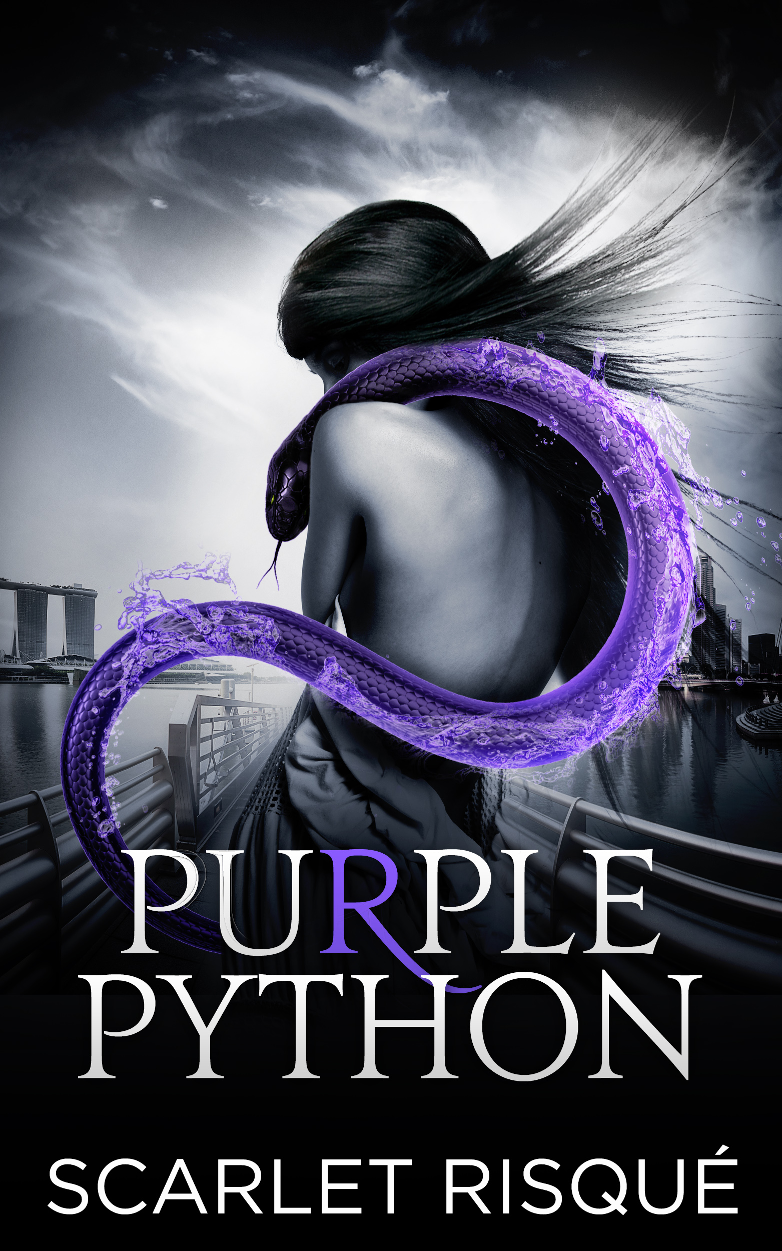 Purple Python - HOURGLASS SERIES